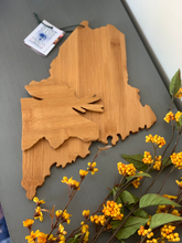 Load image into Gallery viewer, Maine Bamboo Cutting Board