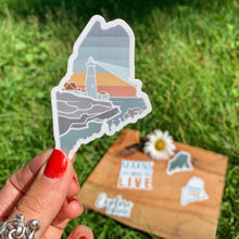 Load image into Gallery viewer, Maine Lighthouse Sticker