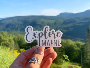 Explore Maine Sticker