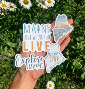 Maine Sticker Bundle
