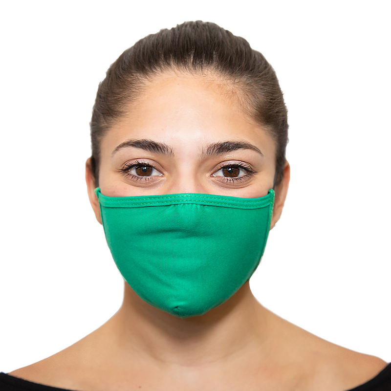 Bulk Pack - Solid Colored Reusable Face Masks