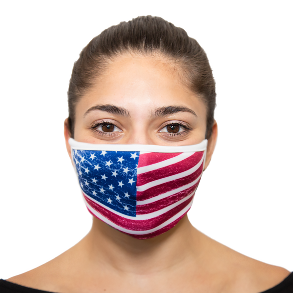 "Patriotic ""Stars & Stripes"" Masks/Gaiter Set"