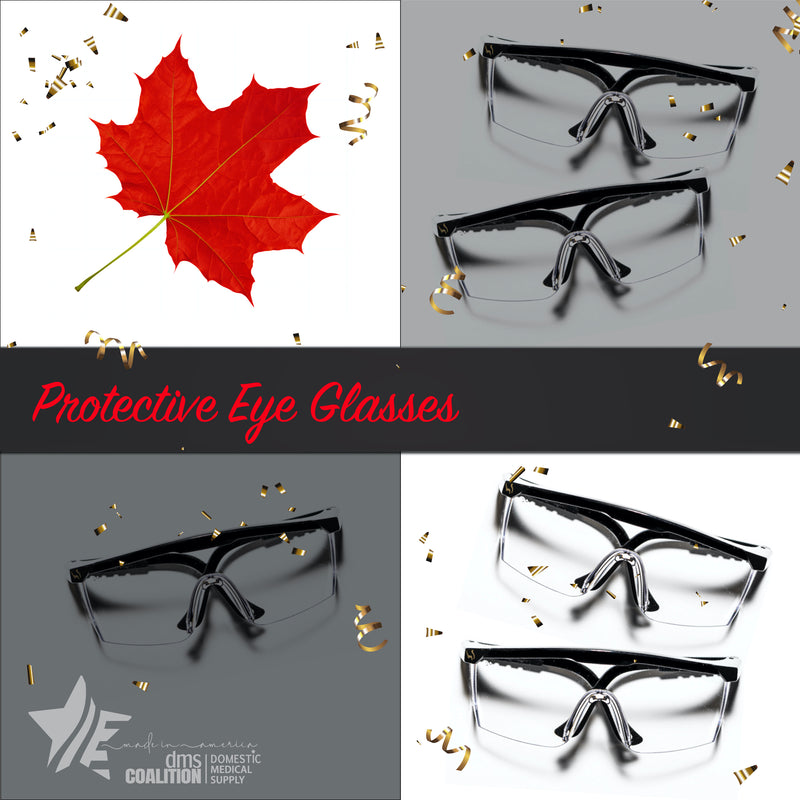 5 Protective Eye Glasses Bundle