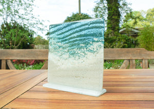 "Paradise Freestanding Panel - 15cm (6"") on a foot"