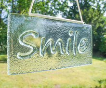 "Load image into Gallery viewer, Smile Suncatcher - Hanging - 20x10cm(8x4"")"