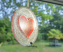 "Load image into Gallery viewer, Red Heart Suncatcher - 12cm(5"")"
