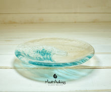 "Load image into Gallery viewer, Small Wave Turquoise Bowl - 20cm(8"")"