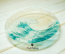 Load image into Gallery viewer, kkukasai wave bowl, glass sea table decor