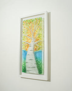 "Large Forest Portrait Frame - 30x60cm(12x23 1/2"")"