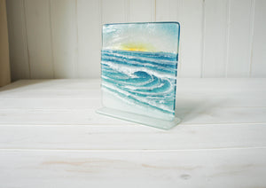 "Rolling Wave Panel Sun - Model 2 D2 - 15cm (6"") on a foot"