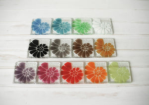 4 Ammonite Coasters - Choose your colours
