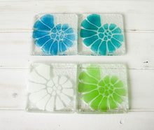 Load image into Gallery viewer, 4 Ammonite Coasters - Choose your colours