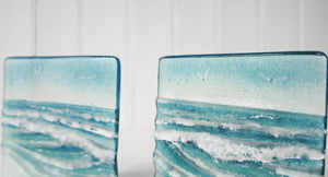 "2 Small Wave Panels - Model 1 D1&2 -  12cm(5"") on a foot"