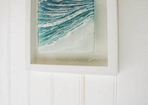 "Wave Frame   Portrait - 25cmx45cm(10x18"") with or without the Sun"