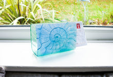 Load image into Gallery viewer, Ammonite Letter Rack -Turquoise Blue Green
