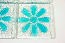 Load image into Gallery viewer, 4 Daisy Turquoise Coasters