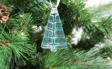 "Load image into Gallery viewer, 6 Mini Glass Trees - Choose your colours - 8cm(3"")"