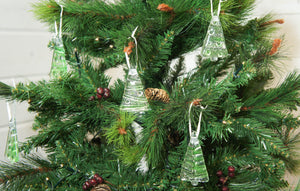 christmas tree glass decorations