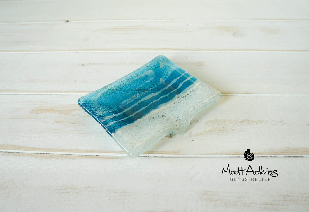 Beach Blue Soap Dish - 13x10cm(5