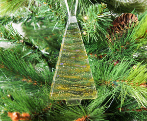 1 to 6 Medium Amber Trees - Hanging - 12cm/3 3/4""