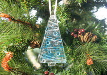 Load image into Gallery viewer, 1 to 6 Medium Blue Trees - Hanging - 12cm/3 3/4""