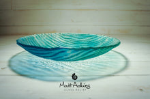"Load image into Gallery viewer, Seabed Bowl - Blue Turquoise - 29cm(11 1/2"")"