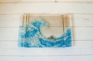 "Wave on a Tray - 30x20cm( 11 3/4 x 8 1/4"")"