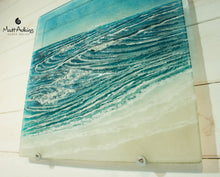 "Load image into Gallery viewer, Coastal Wave Panel Sun - Large - 40x40cm (16""x16"") with fixings"