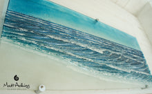 "Load image into Gallery viewer, XLarge Wave Wall Panel - 76cmx33cm(30x13"") with fixings"