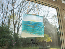 "Load image into Gallery viewer, Rolling Wave Suncatcher Sun - Model 2 D2 - Hanging - 15cm(6"")"