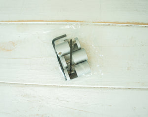 Set of 3 fixings with 2 allen keys for glass wall panels | panel to be 18mm from the wall