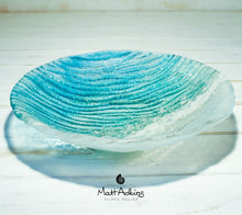 Load image into Gallery viewer, fused glass fruit bowl table decor beach house