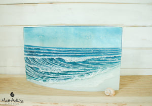 "Wave Panel Curved - Model 5  - 44x26cm(17x10"")"