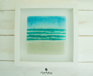 "Beach Frame - Small Square - Turquoise - 25x25cm(10"")"