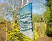 "Load image into Gallery viewer, Wave Suncatcher Small Sun - Model 1 D2 - Hanging - 12cm(5"")"