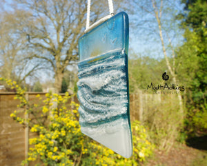 "Wave Suncatcher Small Sun - Model 1 D2 - Hanging - 12cm(5"")"