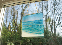 "Load image into Gallery viewer, Rolling Wave Suncatcher - Model 2 D2 - Hanging - 15cm(6"")"