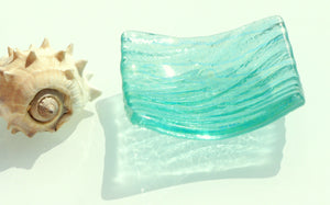 "Seabed Dish - Turquoise - 10cm(4"")"