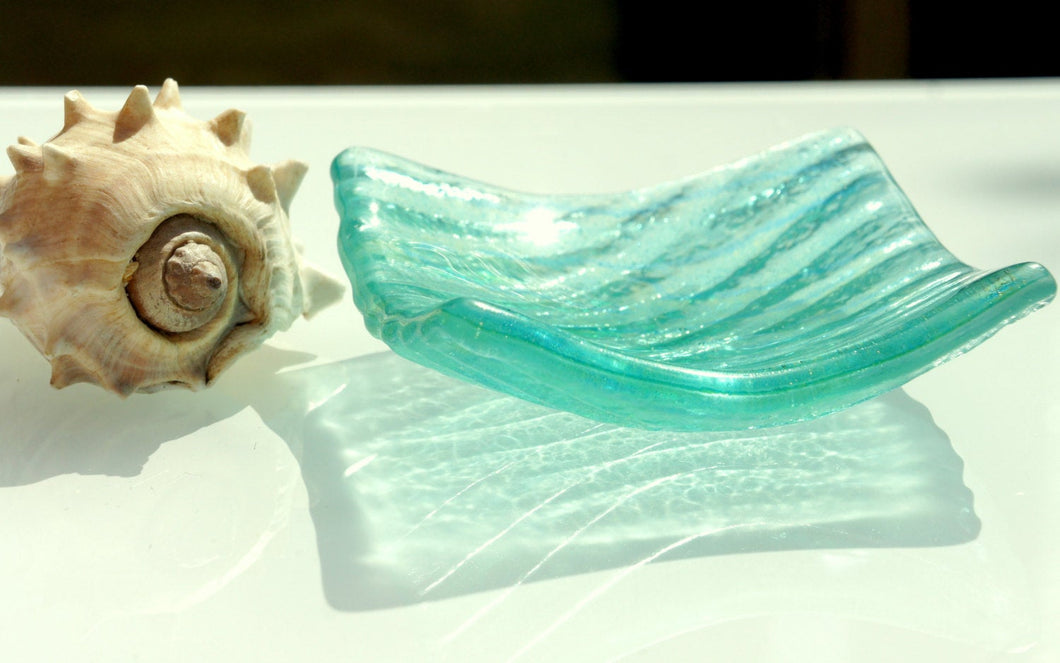 Seabed Dish - Turquoise - 10cm(4