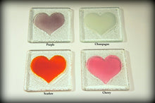 Load image into Gallery viewer, 6 Heart Coasters - Choose your colours