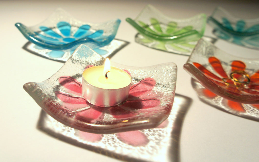 2 Daisy Ring Dish - Choose your colours - 10cm/4