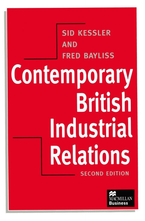 Contemporary British Industrial Relations | Zookal Textbooks | Zookal Textbooks