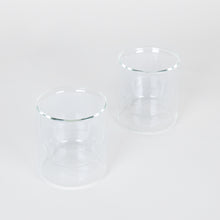Load image into Gallery viewer, Double-Wall 6oz Glasses Set of 2 - Clear