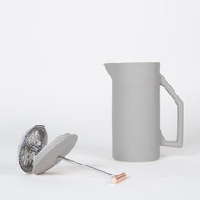 Load image into Gallery viewer, 850 mL Ceramic French Press - Matt Grey