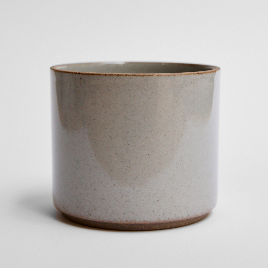 Hasami Handleless Cup Gloss Grey Glaze