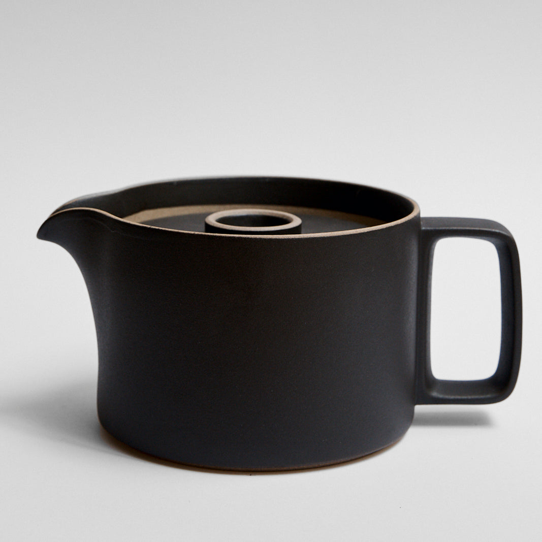 Hasami Large Tea Pot Black Glaze