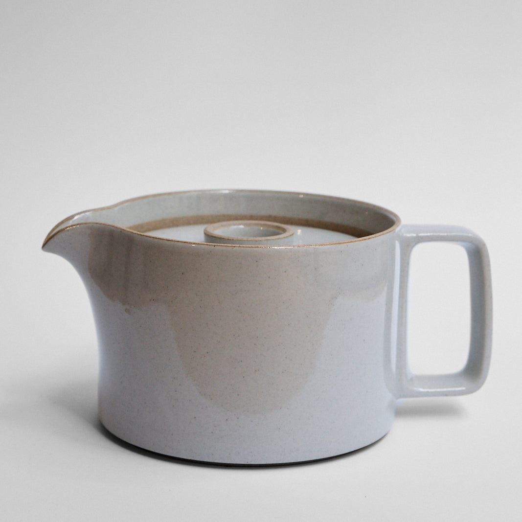 Hasami Large Tea Pot Gloss Grey Glaze