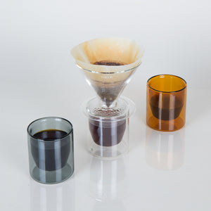Double-Wall Pour Over - Clear