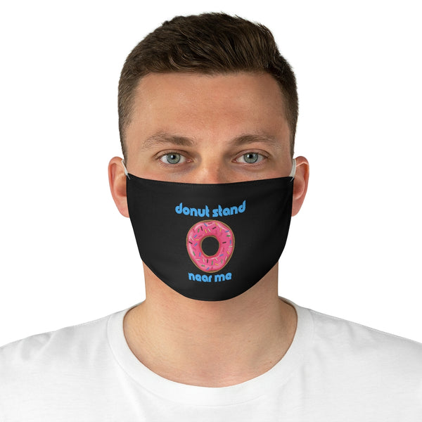 Donut Stand Near Me - Face Mask