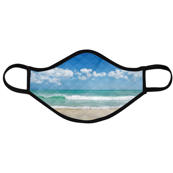 Beach Scenes Face Masks (2 Designs Pack)